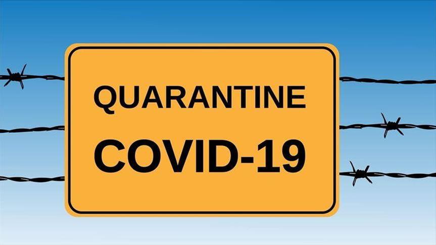 Quarantine during COVID-19
