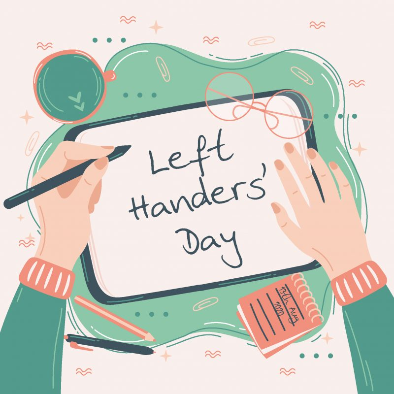 Inernational Left Handers' Day