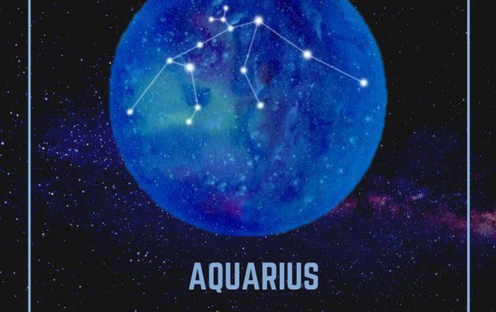 Affectionate Aquarians.