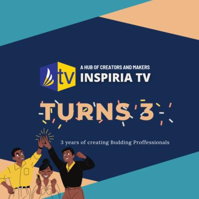 Inspiria Tv anniversary.